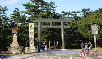 日本島根「出雲市」知名景點「出雲大社」入口