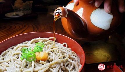 日本島根「出雲市」知名景點「出雲大社」前的神門通表參道吃出雲蕎麥麵