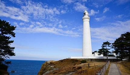 日本島根「出雲市」知名景點出雲日御碕燈塔
