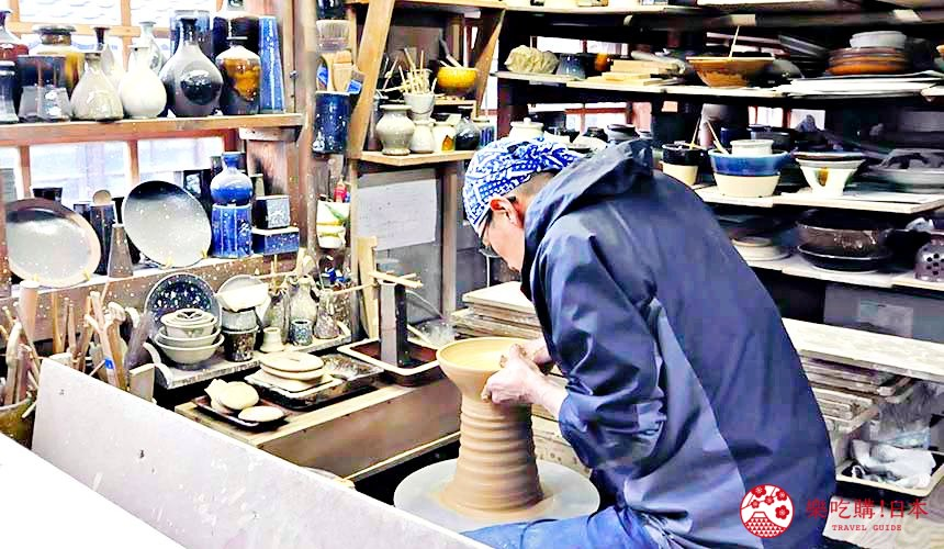 日本島根「出雲市」推薦景點出西窯的工房