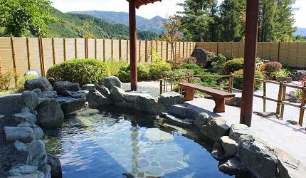 日本冈山钟乳石洞秘境去「新见」!住宿推荐新见千屋温泉「いぶきの里」的露天温泉