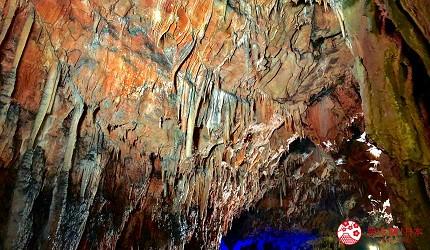 日本冈山钟乳石洞秘境去「新见」!钟乳石洞「满奇洞」内各种奇形怪状的钟乳石