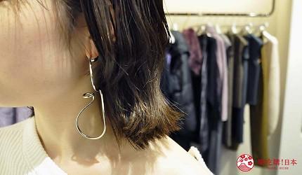 关西旅游用「JR西日本铁路周游券」去冈山车站的「冈山一番街」的「FRAY I.D」购买大耳环