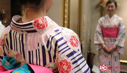 冈山车站的「Hotel Granvia Okayama」和服浴衣体验