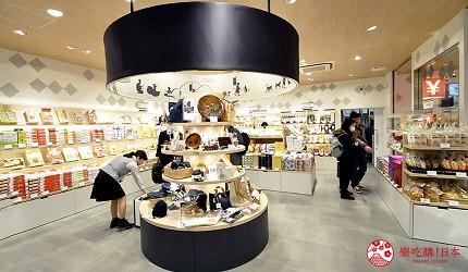 关西旅游用「JR西日本铁路周游券」去冈山车站的「おみやげ街道」新干缐改札口内的店舖