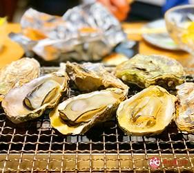 广岛吴市美食烤牡蛎