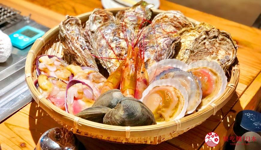 廣島吳市美食「海のyeah!!!」牡蠣海鮮