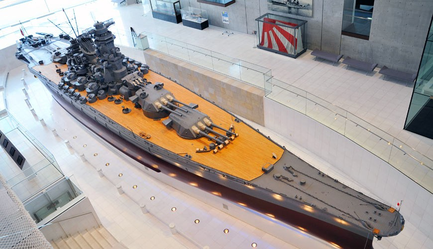 廣島吳市軍事大和博物館大和戰艦