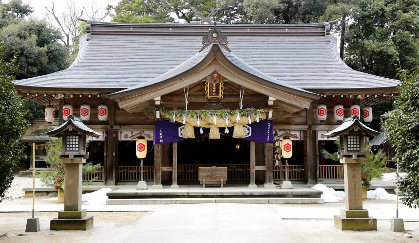 日本结缘圣地「岛根」、柯南故乡「鸟取」旅游推荐:松江市的八重垣神社