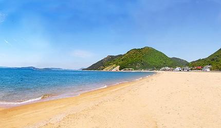 冈山旅游饭店亲子住宿推荐「濑户内钻石酒店」附近的涉川海岸