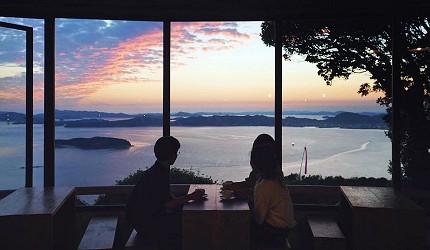 冈山旅游饭店亲子住宿推荐「濑户内钻石酒店」附近的山顶绝景咖啡馆「Belk」