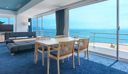 冈山旅游饭店亲子住宿推荐「濑户内钻石酒店」有宽敞的海景房