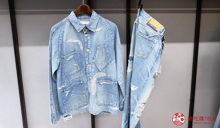 「丹宁之父」石桥秀次在2016年创立的牛仔裤品牌「BLUE SAKURA」跟「TCB」联名的热卖的牛仔外套