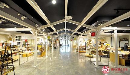 岡山伴手禮雜貨推薦必逛「HAREMACHI 特區 365」的商場一景