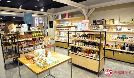 岡山伴手禮雜貨推薦必逛「HAREMACHI 特區 365」的商場的商品空間