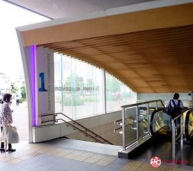 岡山伴手禮雜貨推薦必逛「HAREMACHI 特區 365」的前往交通方式步驟一