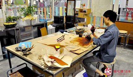 岡山伴手禮雜貨推薦必逛「HAREMACHI 特區 365」的手工藝體驗教室