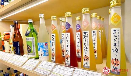 岡山伴手禮雜貨推薦必逛「HAREMACHI 特區 365」的水果風味酒類伴手禮商品