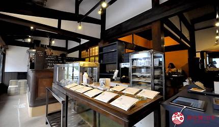 島根鳥取自由行必吃美食推薦店家「沖野上 blue cacaos」室內照