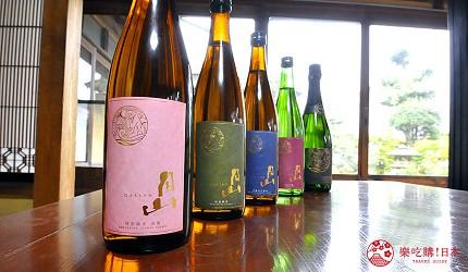 岛根鸟取自由行必吃美食推荐吉田造酒日本酒「月山」的日本酒