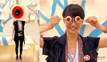 島根鳥取自由行必吃美食推薦和菓子伴手禮「妖菓眼球老爹」創意攝影
