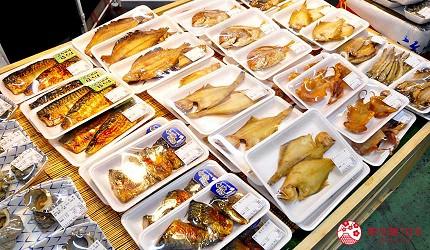 島根鳥取自由行必吃美食推薦海鮮丼店家「山芳亭」的魚貨