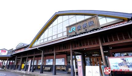 島根鳥取自由行必吃美食推薦景點安來車站
