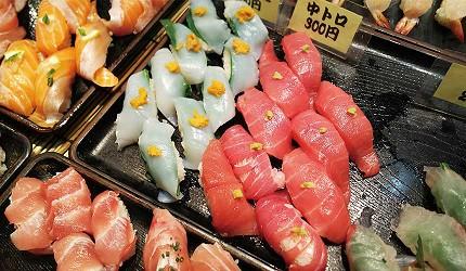 下關市唐戶市場每週五至週日及假日都會舉辦美食活動「壽司大戰(寿司バトル)」