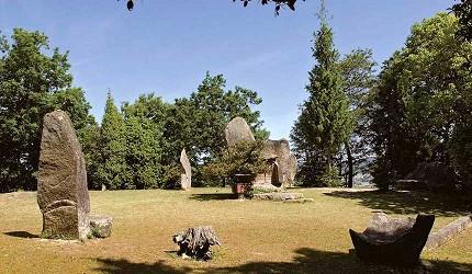 岡山人氣吉備景點推薦!桃太郎征討溫羅時陣戰用的楯築遺跡