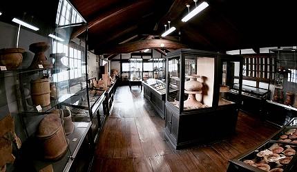 岡山人氣吉備景點推薦「倉敷考古館」館內一景