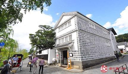 冈山人气吉备景点推荐「仓敷考古馆」外观
