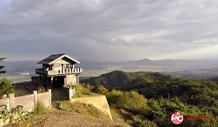 冈山人气吉备景点推荐日本百名城「鬼之城」西门