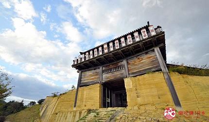 岡山人氣吉備景點推薦日本百名城「鬼之城」一景