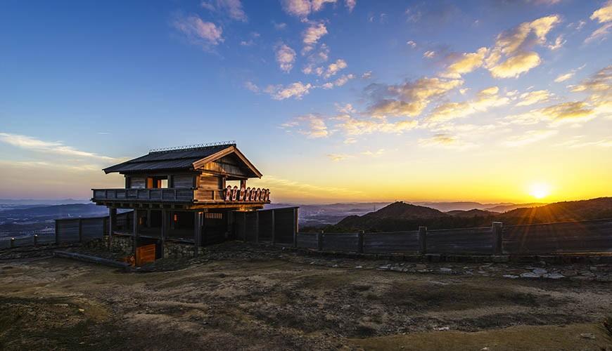 岡山人氣吉備景點推薦日本百名城「鬼之城」