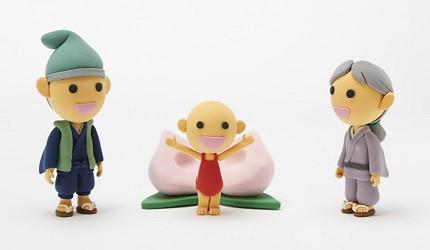 冈山桃太郎传说形象图