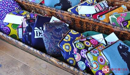 日本山阳山阴「山口市」的一之坂川附近的和风小舖的零钱包