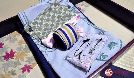 日本山阳山阴「山口市」的温泉旅馆「山水园」旅馆浴衣