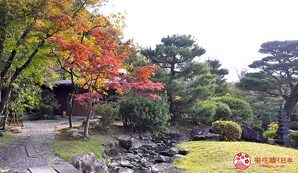 日本山阳山阴「山口市」的温泉旅馆「山水园」庭园