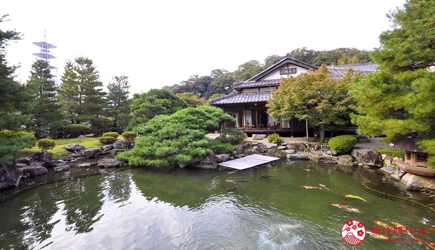 日本山阳山阴「山口市」的温泉旅馆「山水园」