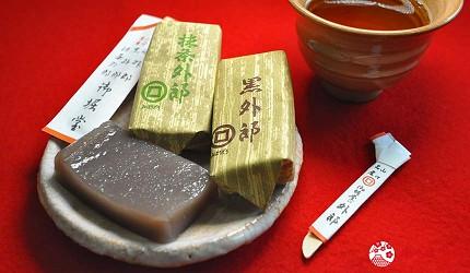 日本山阳山阴「山口市」的伴手礼和菓子「外郎」