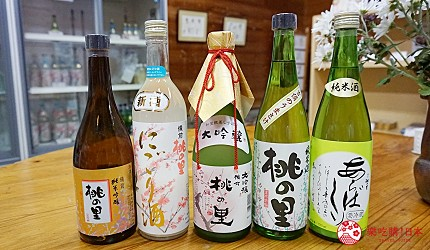 岡山自由行兩天一夜行程推薦!桃子之鄉「赤磐市」的赤磐酒造的日本酒「桃の里」