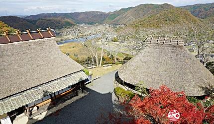 岡山自由行兩天一夜行程推薦!桃子之鄉「赤磐市」的「吉井城山公園」內的古老建築