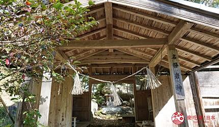 岡山自由行兩天一夜行程推薦!桃子之鄉「赤磐市」的「岩神神社」的巨石