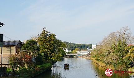 岛根铁道旅行1日游行程推荐推介可以去到出云大社、松江城、堀川热们景点的一畑电车可前往的堀川