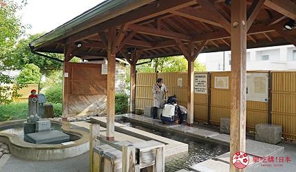 島根鐵道旅行1日遊行程推薦推介可以去到出雲大社、松江城、堀川熱們景點的一畑電車可以去到的松江宍道湖溫泉站有免費足湯