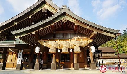 島根鐵道旅行1日遊行程推薦推介可以去到出雲大社、松江城、堀川熱們景點的一畑電車可以去到的出雲大社