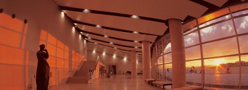 島根鐵道旅行1日遊行程推薦推介可以去到出雲大社、松江城、堀川熱們景點的一畑電車可以去到的島根縣立美術館可以拍到日本百大夕陽美景