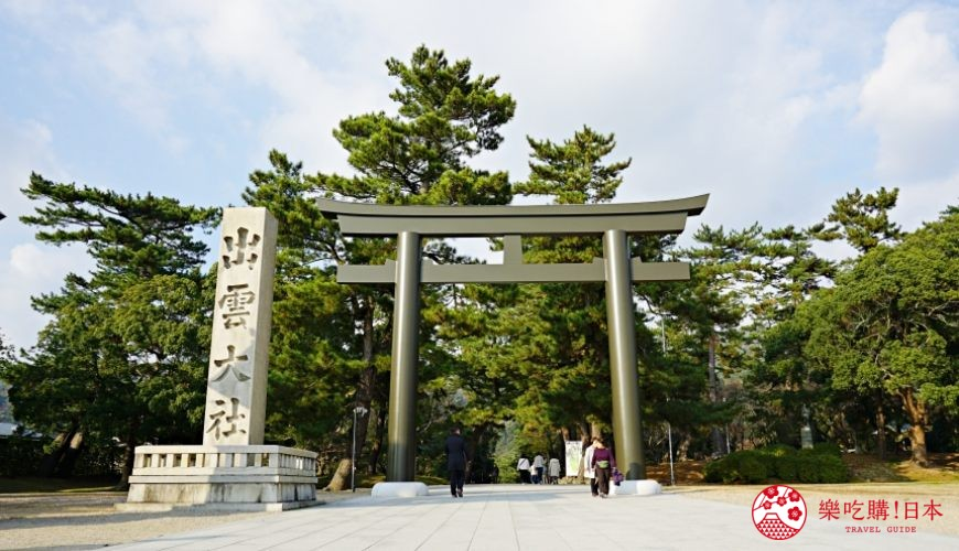 岛根铁道旅行1日游行程推荐推介可以去到出云大社、松江城、堀川热们景点的一畑电车可以去到的出云大社的大鸟居