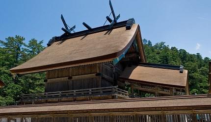 島根鐵道旅行1日遊行程推薦推介可以去到出雲大社、松江城、堀川熱們景點的一畑電車可以去到的出雲大社的御本殿