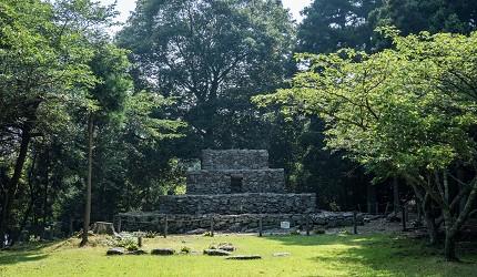 岡山自由行兩天一夜行程推薦!桃子之鄉「赤磐市」的神秘的金字塔「熊山遺跡」